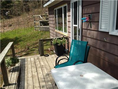 Waterfront Cottage on Black Lake! Located between Perth and Westport.