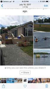 2 bedroom cottage Rice lake, move in May 1st fees paid up to October