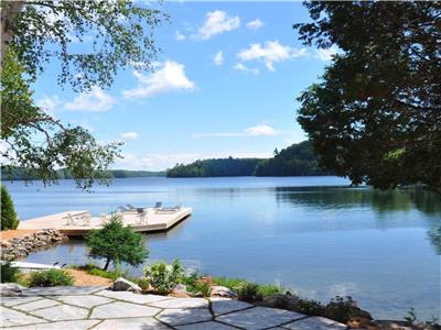 Muskoka, Canada!  Family Compound Situated in Private Cove on Skeleton Lake