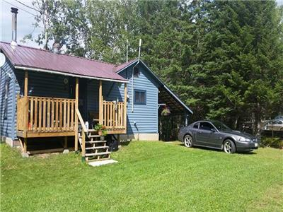 1.35 Acres Waterfront Cottage - Tobique River N.B.