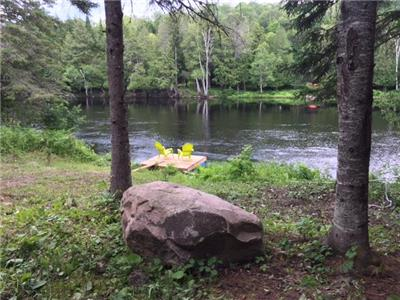 White Tail Lodge at Madawaska River