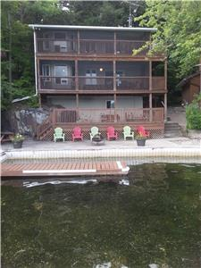 Charleston Lake Cottage - 2 Separate Units - Perfect for 2 Families