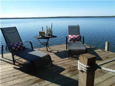 Custom built in 2011...house on Big Lake on Manitoulin Island!! NEW PRICE!!
