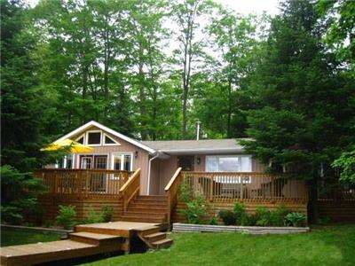 Lorimer Lake beautiful water front cottage and bunkie. Water access..only.  2 mins to the dock