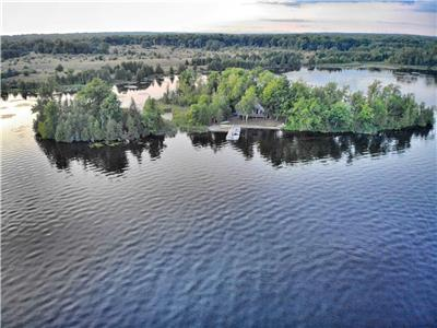 Your own Buckhorn private Island