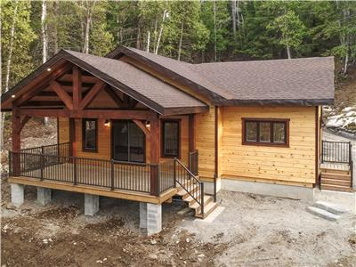Timberframe Cottage Lake Panache (Penage) near Sudbury, ON  FOR SALE