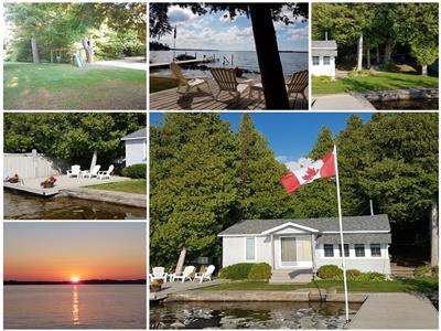 Balsam Lake Waterfront Cottage For Rent