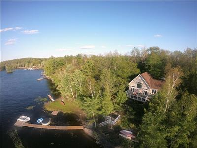 Granite Cove Cottage - Kennebec Lake, Central Frontenac, ON