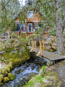 4 Mile Creek Cabin (creekside)