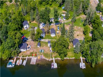 Trent River Cottages (Cottage and Boat Rentals ).River Front
