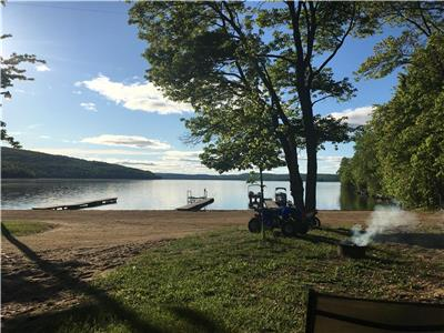 Cottages For Rent at Sand Bay Family Campground