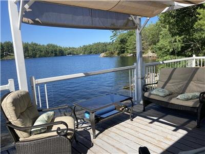 Get AWAY FROM IT ALL at this boat access, sunny, island cottage