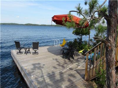 Lake Muskoka - CallNest 750'Pt, panoramic views, deep water/beach