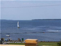 Shediac Area Cottage Rental 30 mtrs private beach, where you can anchor your watercraft within view