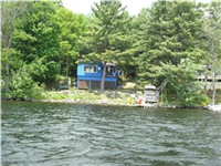 REDUCED Renovated Clean and Weed Free WATERFRONT Cottage, Black Lake, Perth, Ontario
