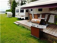 fifth wheel a louer 37 pieds 4 annexes