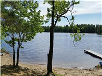 Newly Renovated Summer Cottage Rental, with large lakefront and private beach