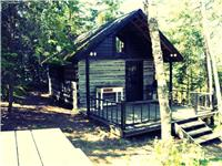1 Acre Waterfront 1800s Cabins