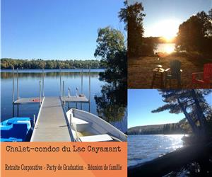 Cottage-condos Lake Cayamant