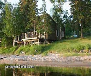 "Sandy Beach Water Front Cottage ""Club Shed"" On Byng Inlet, Georgian Bay, Drive To"