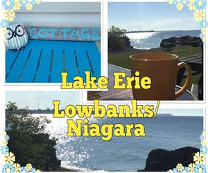 New Listing:  Lake Erie Beach House Lowbanks 2 Prime July Weeks Available