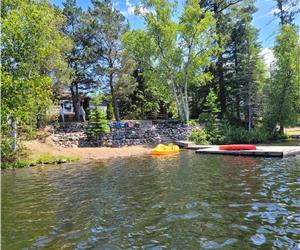 Onpawelodge Point on beautiful Paudash Lake. Winter dates available for snowmobiling