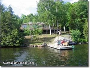 Birch Point Cottage on Big Clear available Oct, Nov Dec $999.00 2 night weekend