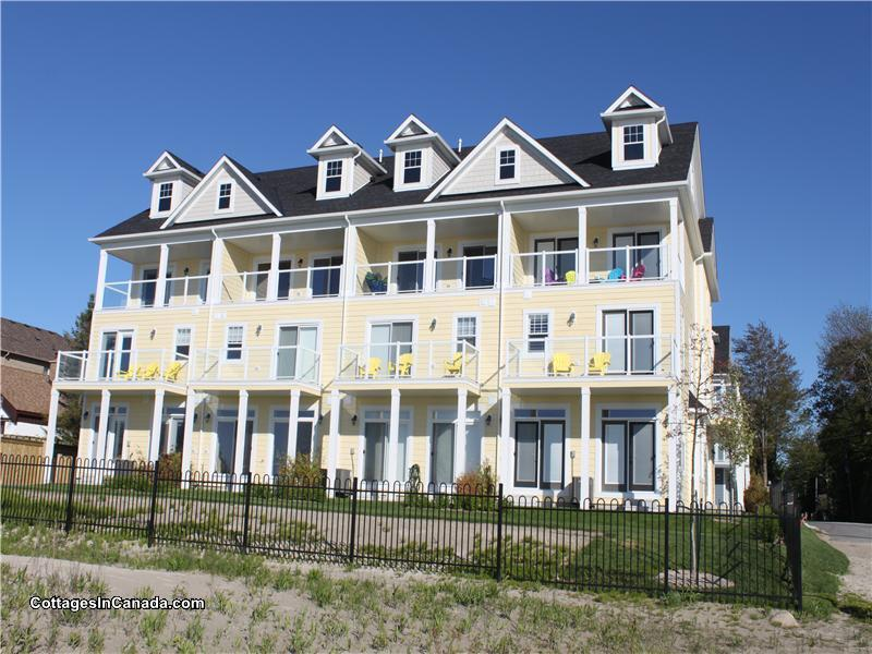 Awesome Houses For Rent Wasaga Beach Part - 13: View From The Beach - 2/20